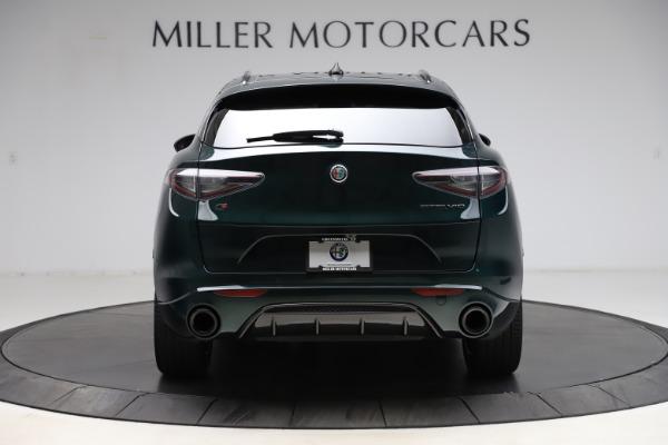 New 2021 Alfa Romeo Stelvio Ti Sport Q4 for sale $56,450 at Pagani of Greenwich in Greenwich CT 06830 6