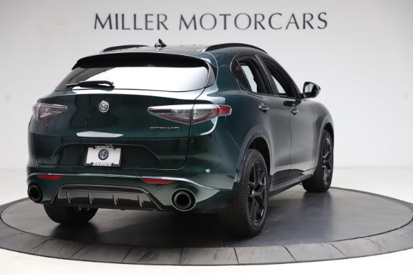 New 2021 Alfa Romeo Stelvio Ti Sport Q4 for sale $56,450 at Pagani of Greenwich in Greenwich CT 06830 7