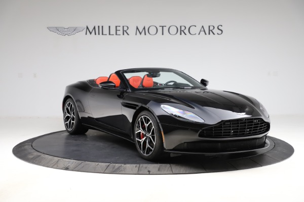 Used 2019 Aston Martin DB11 Volante for sale $204,900 at Pagani of Greenwich in Greenwich CT 06830 10