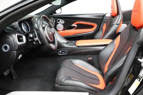 Used 2019 Aston Martin DB11 Volante Volante for sale $204,900 at Pagani of Greenwich in Greenwich CT 06830 14