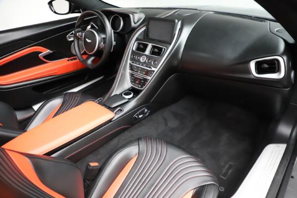 Used 2019 Aston Martin DB11 Volante Volante for sale $204,900 at Pagani of Greenwich in Greenwich CT 06830 20