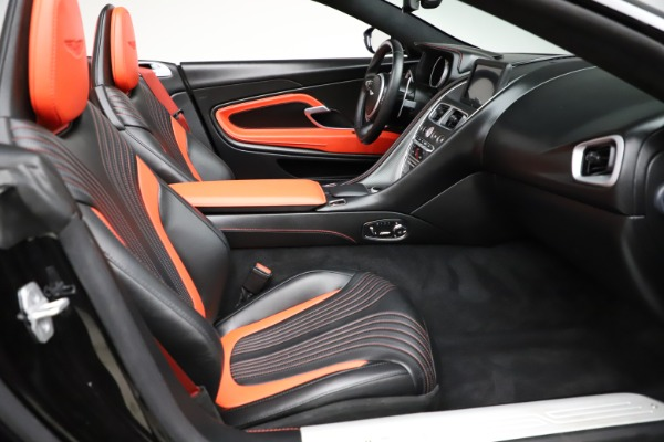 Used 2019 Aston Martin DB11 Volante for sale $204,900 at Pagani of Greenwich in Greenwich CT 06830 21