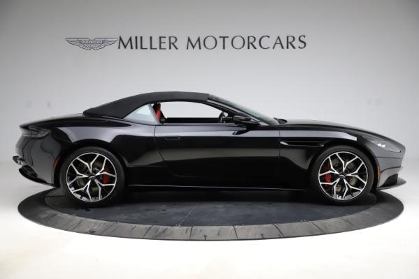 Used 2019 Aston Martin DB11 Volante Volante for sale $204,900 at Pagani of Greenwich in Greenwich CT 06830 27