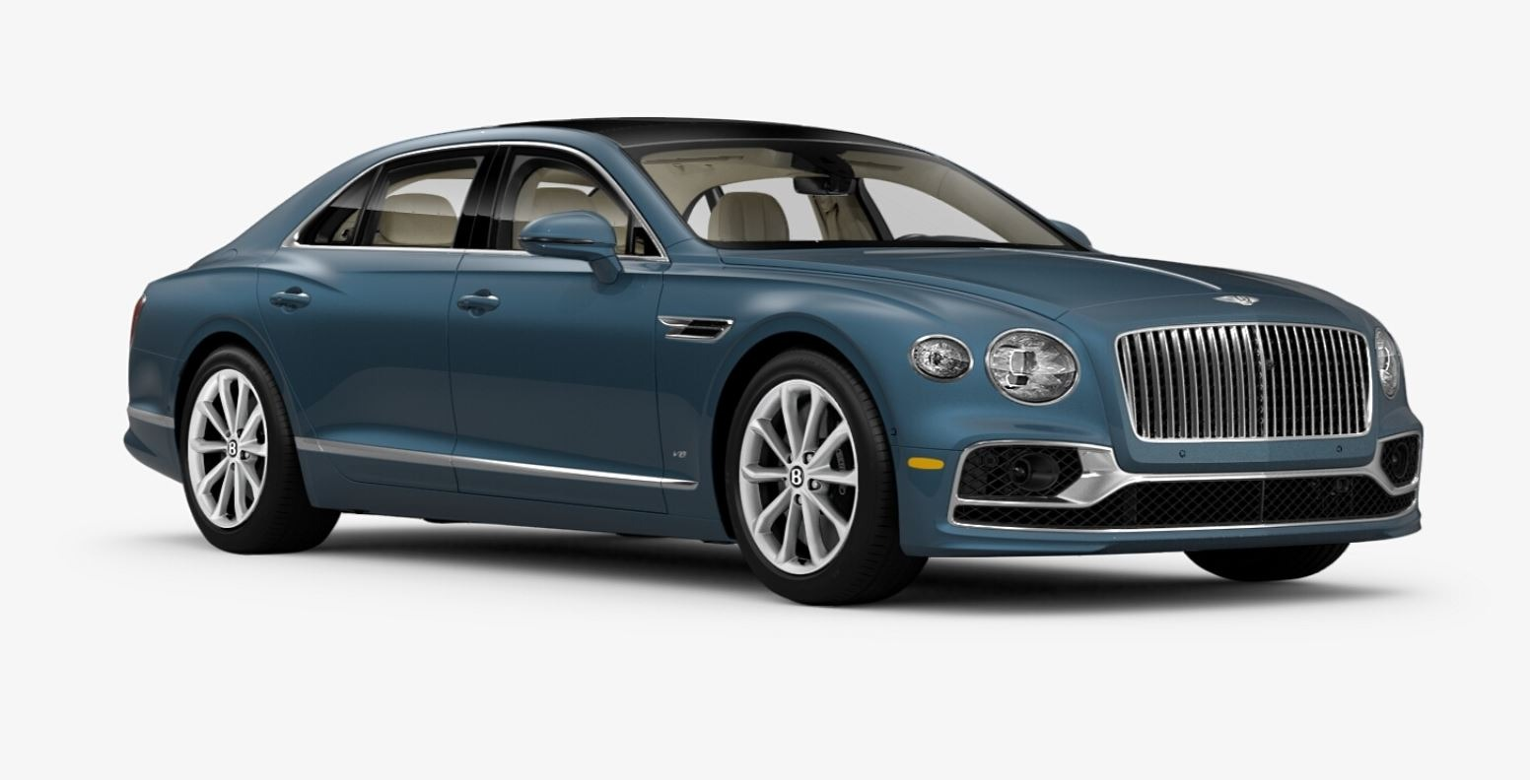 New 2021 Bentley Flying Spur V8 for sale Sold at Pagani of Greenwich in Greenwich CT 06830 1