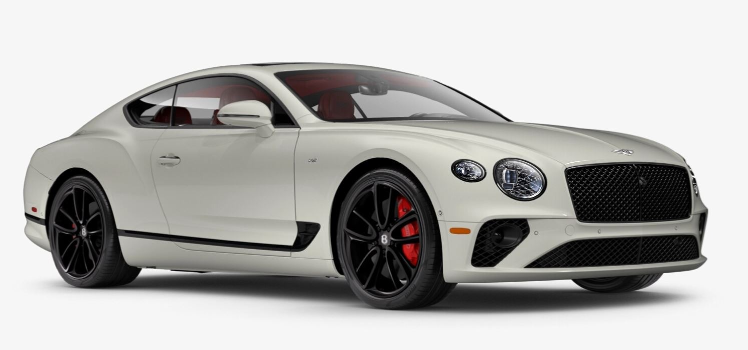 New 2021 Bentley Continental GT V8 for sale $270,170 at Pagani of Greenwich in Greenwich CT 06830 1