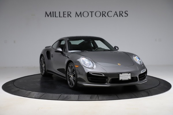Used 2015 Porsche 911 Turbo for sale $109,900 at Pagani of Greenwich in Greenwich CT 06830 11
