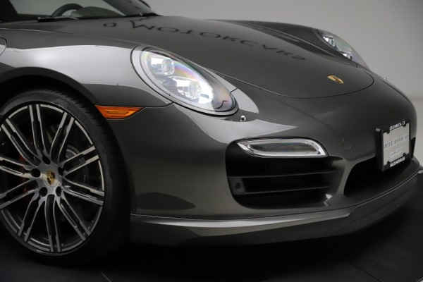 Used 2015 Porsche 911 Turbo for sale $109,900 at Pagani of Greenwich in Greenwich CT 06830 26