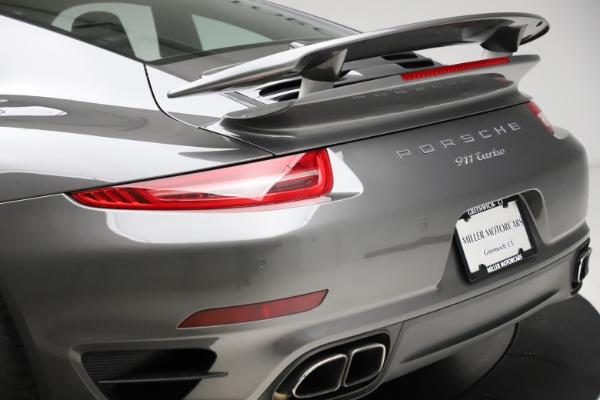 Used 2015 Porsche 911 Turbo for sale $109,900 at Pagani of Greenwich in Greenwich CT 06830 27