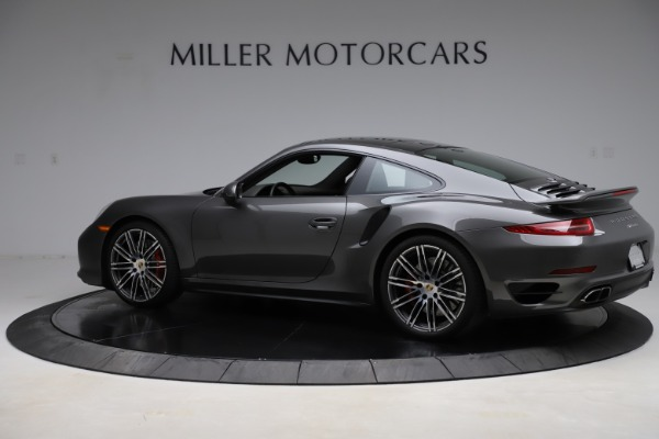 Used 2015 Porsche 911 Turbo for sale $109,900 at Pagani of Greenwich in Greenwich CT 06830 4