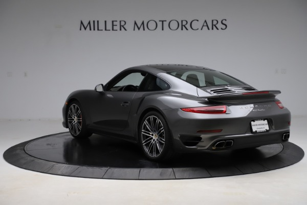 Used 2015 Porsche 911 Turbo for sale $109,900 at Pagani of Greenwich in Greenwich CT 06830 5