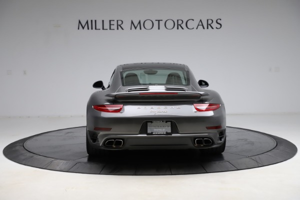 Used 2015 Porsche 911 Turbo for sale $109,900 at Pagani of Greenwich in Greenwich CT 06830 6