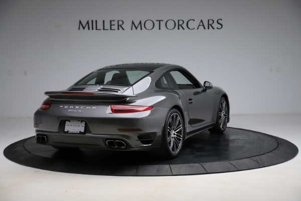 Used 2015 Porsche 911 Turbo for sale $109,900 at Pagani of Greenwich in Greenwich CT 06830 7