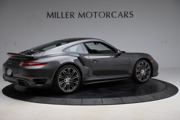 Used 2015 Porsche 911 Turbo for sale $109,900 at Pagani of Greenwich in Greenwich CT 06830 8