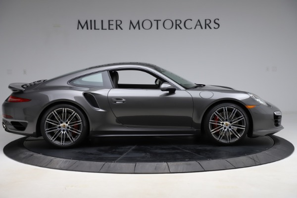 Used 2015 Porsche 911 Turbo for sale $109,900 at Pagani of Greenwich in Greenwich CT 06830 9