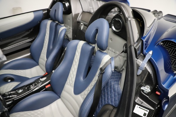 Used 2017 Pagani Huayra Roadster for sale Call for price at Pagani of Greenwich in Greenwich CT 06830 24