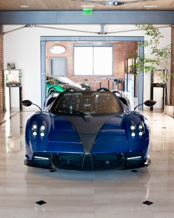 Used 2017 Pagani Huayra Roadster for sale Call for price at Pagani of Greenwich in Greenwich CT 06830 28