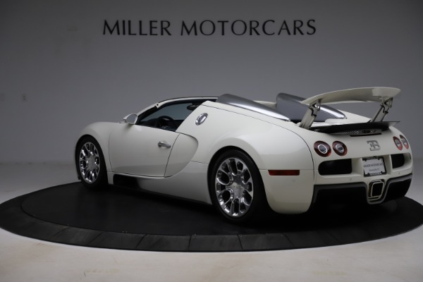 Used 2010 Bugatti Veyron 16.4 Grand Sport for sale Call for price at Pagani of Greenwich in Greenwich CT 06830 5