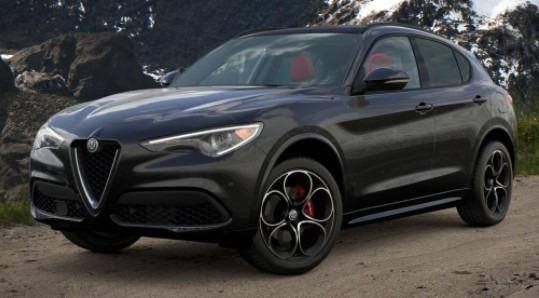 New 2021 Alfa Romeo Stelvio Ti Sport Q4 for sale $57,850 at Pagani of Greenwich in Greenwich CT 06830 1