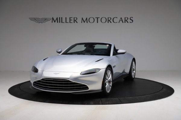 New 2021 Aston Martin Vantage Roadster for sale $184,286 at Pagani of Greenwich in Greenwich CT 06830 12