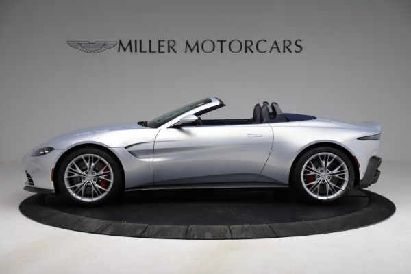 New 2021 Aston Martin Vantage Roadster for sale $184,286 at Pagani of Greenwich in Greenwich CT 06830 2