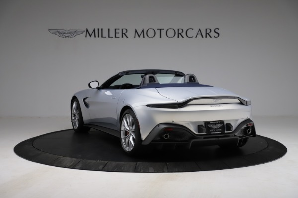 New 2021 Aston Martin Vantage Roadster for sale $184,286 at Pagani of Greenwich in Greenwich CT 06830 4