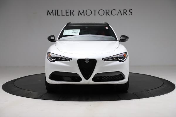 New 2021 Alfa Romeo Stelvio Ti Sport Q4 for sale $58,740 at Pagani of Greenwich in Greenwich CT 06830 12