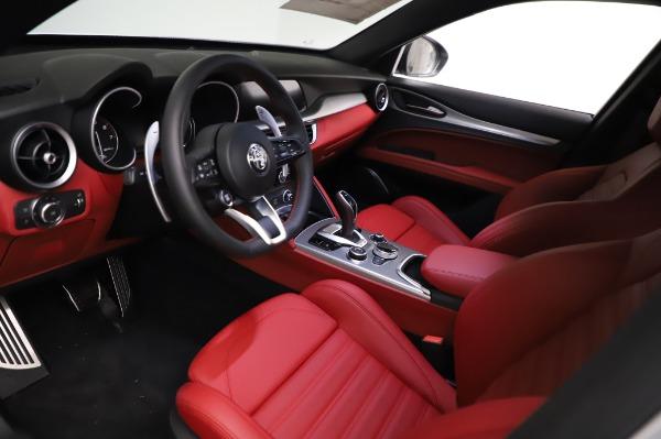 New 2021 Alfa Romeo Stelvio Ti Sport Q4 for sale $58,740 at Pagani of Greenwich in Greenwich CT 06830 13