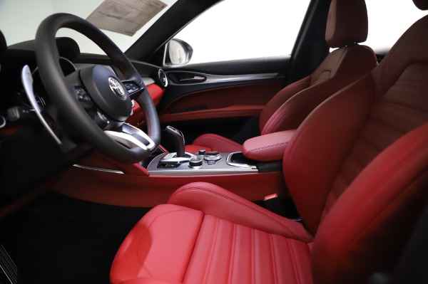 New 2021 Alfa Romeo Stelvio Ti Sport Q4 for sale $58,740 at Pagani of Greenwich in Greenwich CT 06830 14