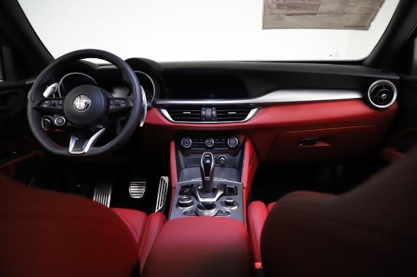 New 2021 Alfa Romeo Stelvio Ti Sport Q4 for sale $58,740 at Pagani of Greenwich in Greenwich CT 06830 16