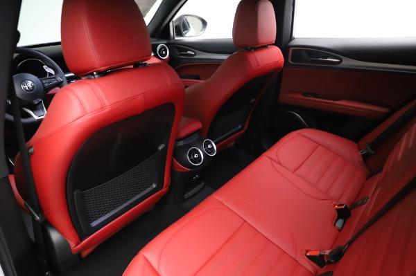 New 2021 Alfa Romeo Stelvio Ti Sport Q4 for sale $58,740 at Pagani of Greenwich in Greenwich CT 06830 18