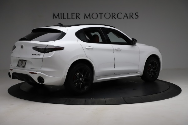 New 2021 Alfa Romeo Stelvio Ti Sport Q4 for sale $58,740 at Pagani of Greenwich in Greenwich CT 06830 8