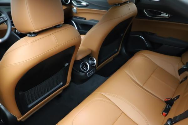 New 2021 Alfa Romeo Giulia Ti Q4 for sale $52,600 at Pagani of Greenwich in Greenwich CT 06830 21