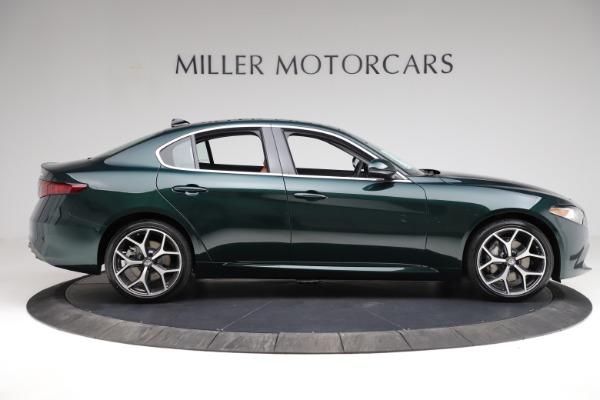 New 2021 Alfa Romeo Giulia Ti Q4 for sale $52,600 at Pagani of Greenwich in Greenwich CT 06830 9