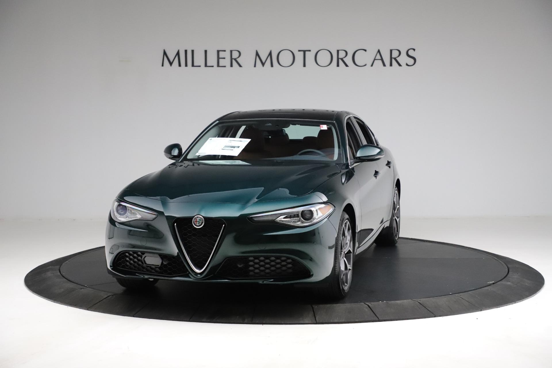 New 2021 Alfa Romeo Giulia Ti Q4 for sale $52,600 at Pagani of Greenwich in Greenwich CT 06830 1