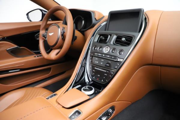 New 2021 Aston Martin DB11 Volante for sale $272,686 at Pagani of Greenwich in Greenwich CT 06830 23