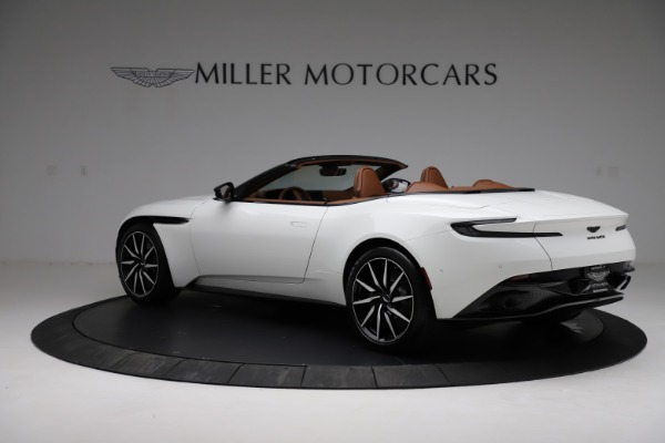 New 2021 Aston Martin DB11 Volante for sale $272,686 at Pagani of Greenwich in Greenwich CT 06830 3