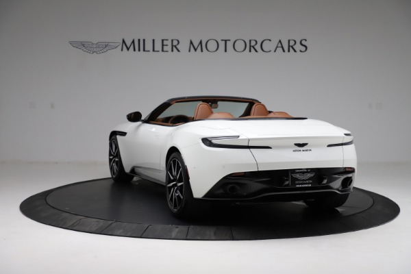 New 2021 Aston Martin DB11 Volante for sale $272,686 at Pagani of Greenwich in Greenwich CT 06830 4
