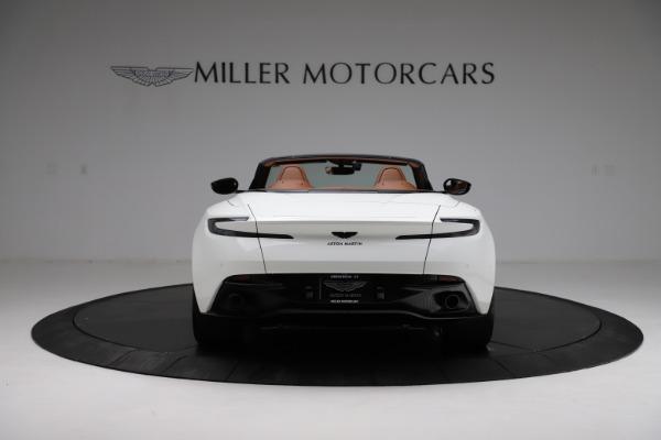 New 2021 Aston Martin DB11 Volante for sale $272,686 at Pagani of Greenwich in Greenwich CT 06830 5