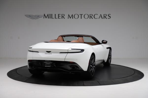 New 2021 Aston Martin DB11 Volante for sale $272,686 at Pagani of Greenwich in Greenwich CT 06830 6