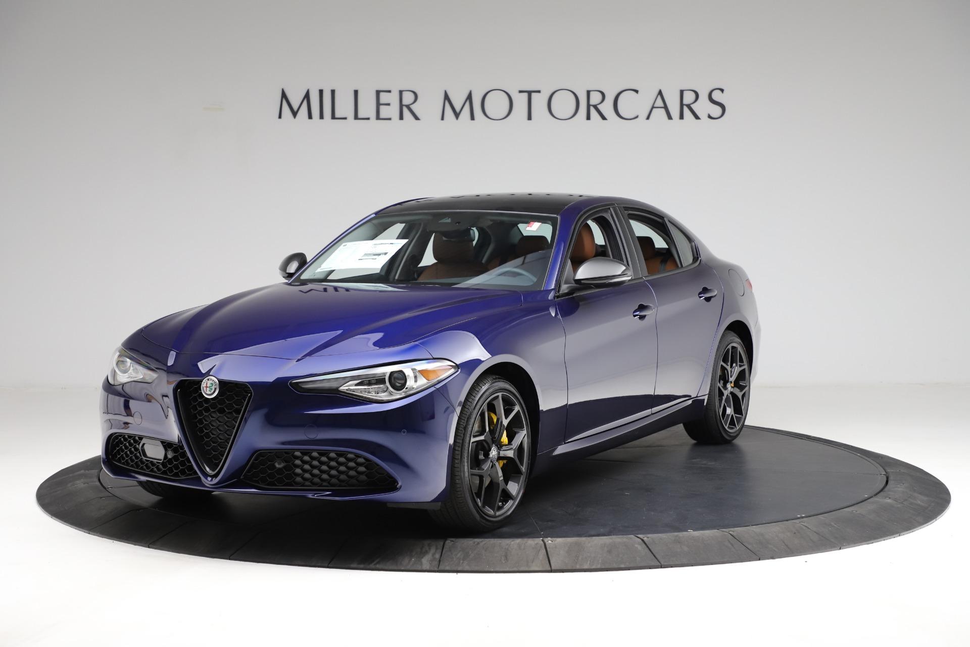 New 2021 Alfa Romeo Giulia Ti Q4 for sale $51,350 at Pagani of Greenwich in Greenwich CT 06830 1