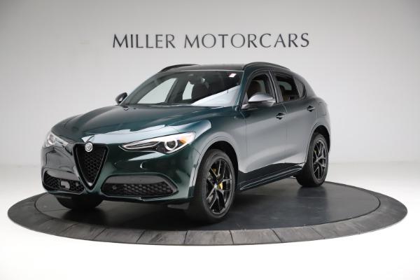 New 2021 Alfa Romeo Stelvio Ti Sport Q4 for sale $56,400 at Pagani of Greenwich in Greenwich CT 06830 2