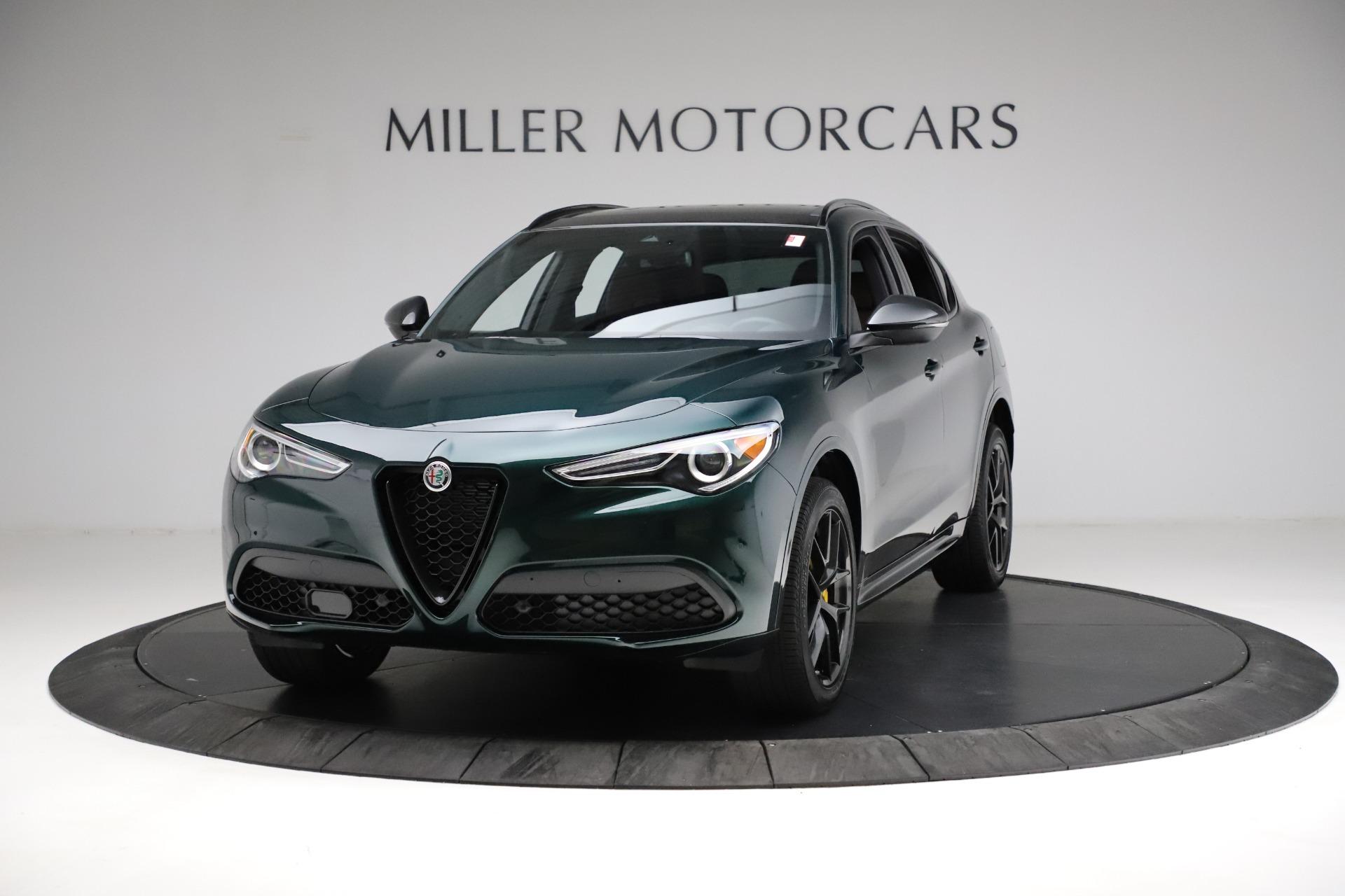 New 2021 Alfa Romeo Stelvio Ti Sport Q4 for sale $56,400 at Pagani of Greenwich in Greenwich CT 06830 1