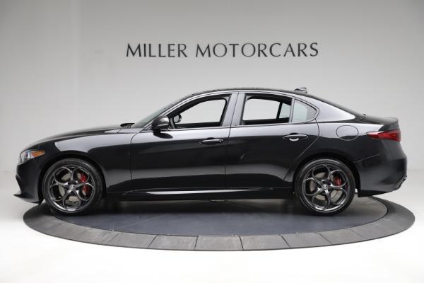 New 2021 Alfa Romeo Giulia Ti Sport Q4 for sale $53,850 at Pagani of Greenwich in Greenwich CT 06830 4