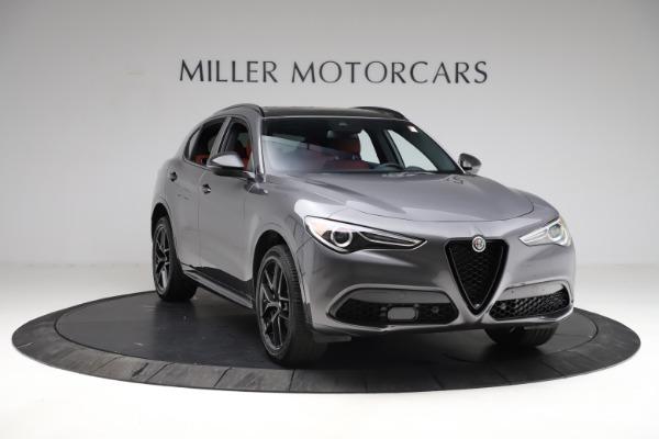 New 2021 Alfa Romeo Stelvio Ti Sport Q4 for sale $56,150 at Pagani of Greenwich in Greenwich CT 06830 12