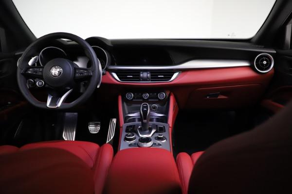 New 2021 Alfa Romeo Stelvio Ti Sport Q4 for sale $56,150 at Pagani of Greenwich in Greenwich CT 06830 16