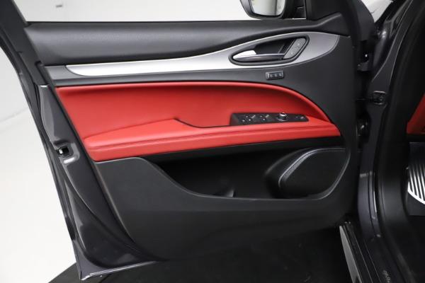 New 2021 Alfa Romeo Stelvio Ti Sport Q4 for sale $56,150 at Pagani of Greenwich in Greenwich CT 06830 17