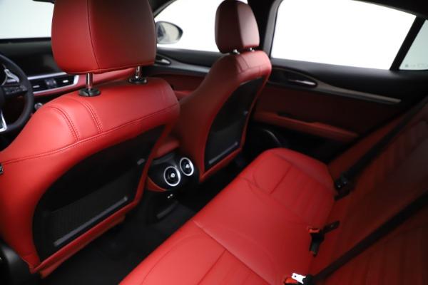 New 2021 Alfa Romeo Stelvio Ti Sport Q4 for sale $56,150 at Pagani of Greenwich in Greenwich CT 06830 18
