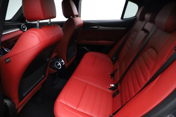 New 2021 Alfa Romeo Stelvio Ti Sport Q4 for sale $56,150 at Pagani of Greenwich in Greenwich CT 06830 19