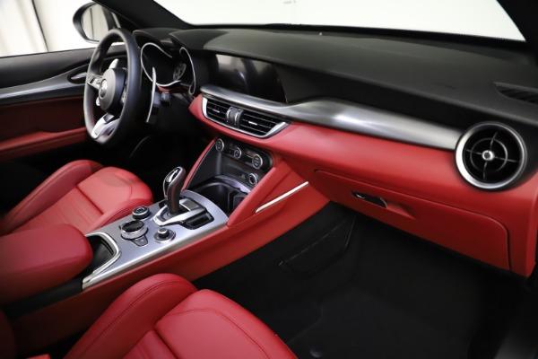 New 2021 Alfa Romeo Stelvio Ti Sport Q4 for sale $56,150 at Pagani of Greenwich in Greenwich CT 06830 22