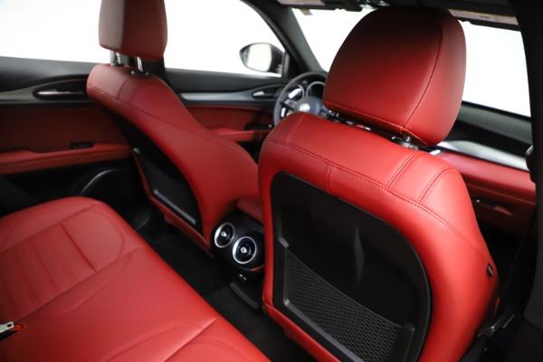 New 2021 Alfa Romeo Stelvio Ti Sport Q4 for sale $56,150 at Pagani of Greenwich in Greenwich CT 06830 25